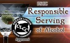 Bartending License, OLCC alcohol server education service permit  / On-Premises Responsible Serving<sup>®</sup>